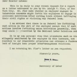 Letter : 1954 January 14