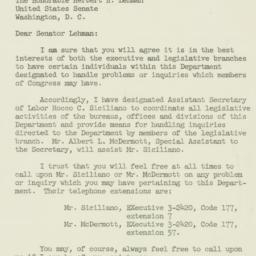 Letter : 1954 March 22