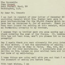 Letter: 1945 January 1