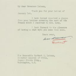 Letter : 1945 January 5