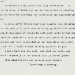 Letter : 1963 April 9