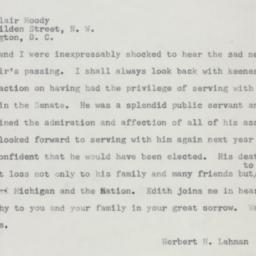 Telegram: 1954 July 21
