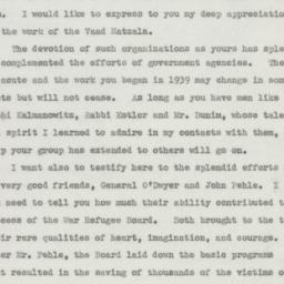 Speech: 1945 December 17