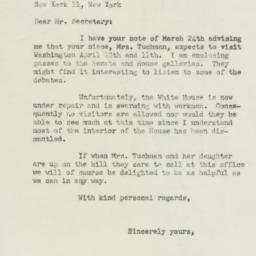 Letter : 1950 March 28