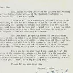 Letter : 1951 January 19