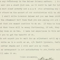 Letter : 1913 June 23