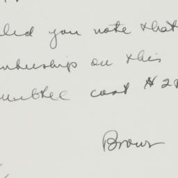 Memorandum : 1931 May 9