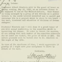 Letter : 1935 May 7