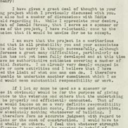 Letter : 1947 July 7