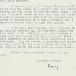 Letter : 1947 July 16