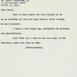 Letter : 1959 April 3