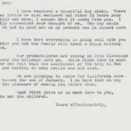 Letter : 1962 December 15