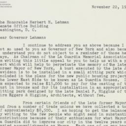 Letter : 1955 November 22