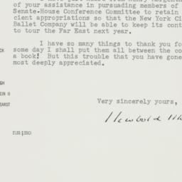 Letter : 1956 July 25