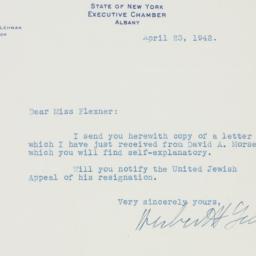 Letter : 1942 April 23