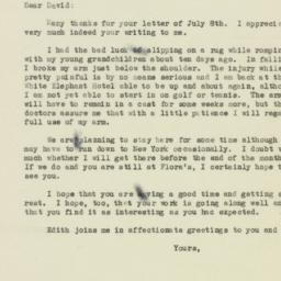 Letter : 1946 July 13