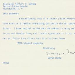 Letter : 1952 April 11