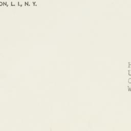 Envelope : 1952 September 3