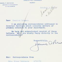 Letter : 1955 October 4