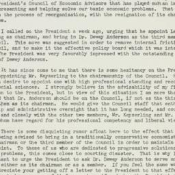 Letter : 1949 October 20