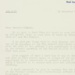 Letter : 1958 December 19