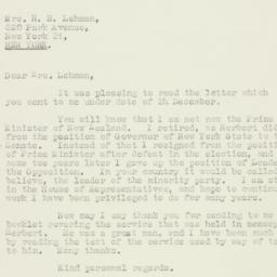 Letter : 1965 January 13
