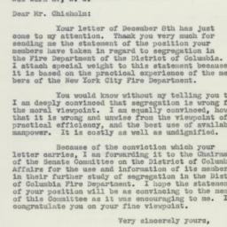 Letter: 1951 December 20