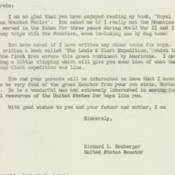 Letter: 1956 January 5