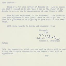 Letter: 1956 January 17