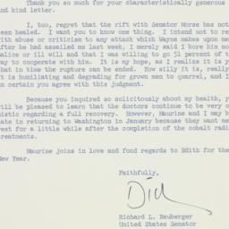 Letter: 1958 December 30