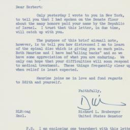 Letter: 1959 July 31