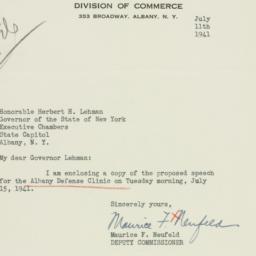 Letter: 1941 July 11