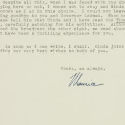 Letter : 1943 May 1