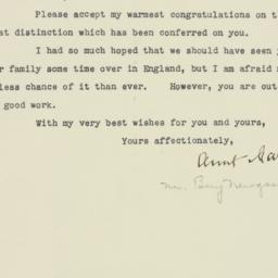 Letter : 1932 December 10