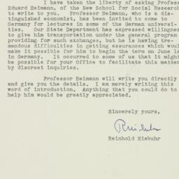 Letter : 1950 May 12