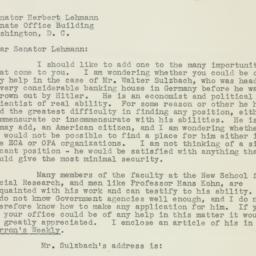 Letter: 1951 October 4