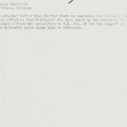 Memorandum : 1951 March 27