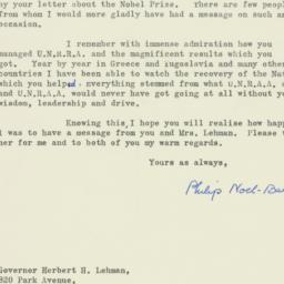 Letter : 1959 November 13