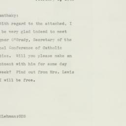 Letter : 1943 February 3