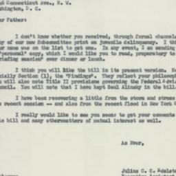 Letter : 1955 September 1
