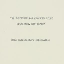 Pamphlet : 1951 November 1
