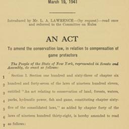 Manuscript: 1941 March 19