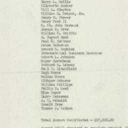 Ephemera : 1955 April 1