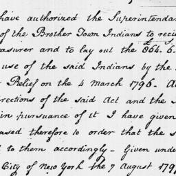 Document, 1797 August 07