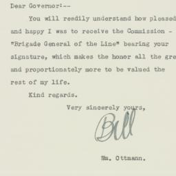 Letter: 1935 October 9