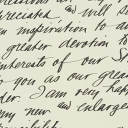 Letter : 1935 October 13