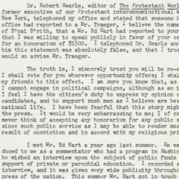 Letter : 1950 October 24