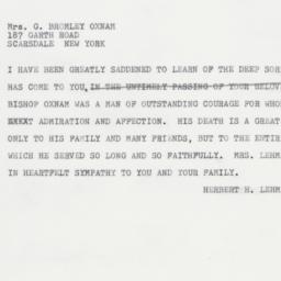 Telegram : 1963 March 14