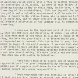 Letter : 1945 April 12