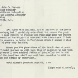 Letter : 1955 November 7